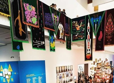 حضور هنرمند ایرانی در سه سالانه هنر معاصر آسیا پاسیفیک | لینک : https://asarart.ir/Atelier/?p=4456 | کانال رسمی باشگاههای تخصصی اثرهنری(آتلیه اثرهنری) ـ @AsarArtAtelier