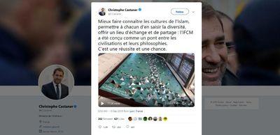 توئیت وزیر کشور فرانسه با اثر هنری دو ایرانی لینک : https://asarart.ir/Atelier/?p=8400 👇 سایت : AsarArt.ir/Atelier اینستاگرام : instagram.com/AsarArtAtelier تلگرام : @AsarArtAtelier 👆