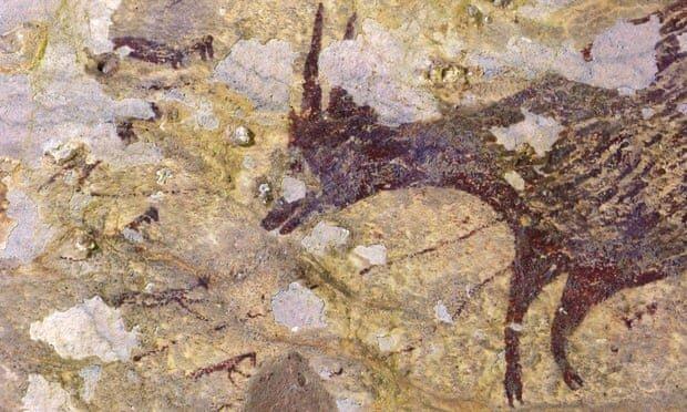 Photo of نقاشی ۴۰ هزار سالهای که در خطر نابودی است