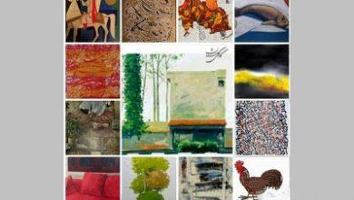 تصویر صد اثر صد هنرمند، افتتاحیه مجازی، فروش ۶۲ اثر