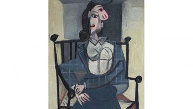 تصویر «دورا مار» پیکاسو، نگین حراجی هنری کریستیز از قرن بیستم