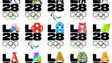 تصویر لوگوی المپیک و پارالمپیک ۲۰۲۸ لسآنجلس