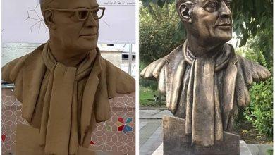 Photo of سردیس عباس کیارستمی جهت رفع نقص برداشته شد