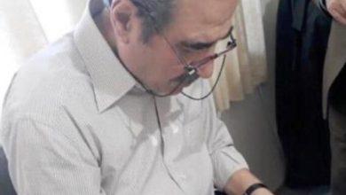 Photo of حسین درخشان خوشنویس همدانی دار فانی را وداع گفت