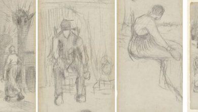 کشف اثری از ونگوگ در یک کتاب مجله اثرهنری ـ اثر هنری