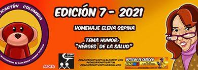هفتمین رقابت کارتون و کاریکاتور کلمبیا ۲۰۲۱ | مجله اثرهنری، بخش هنری، خبری و تحلیلی مجموعه اثرهنری | مجله اثر هنری ـ «اثرگذارتر باشید»