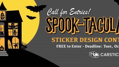 طراحی استیکر Spook-Tacular   مجله اثرهنری، بخش هنری، خبری و تحلیلی مجموعه اثرهنری   مجله اثر هنری ـ «اثرگذارتر باشید»